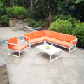 China company wholesale cheap fancy outdoor patio furniture sofa set