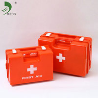 Factory direct sales high quality medical plastic empty small travel kit first aid box