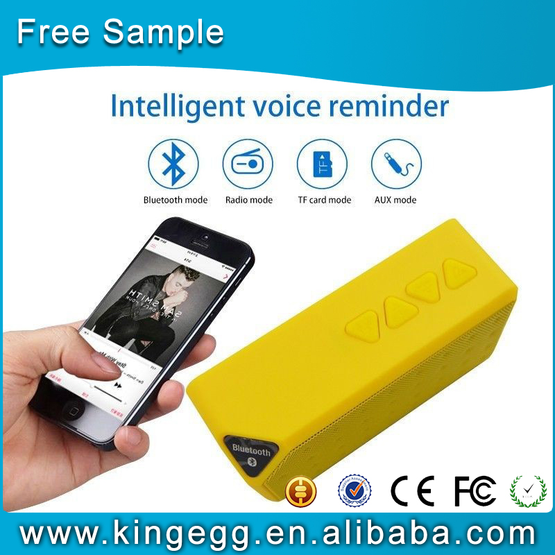 Mini Bluetooth Speaker Wireless Portable Music Sound Box with Mic