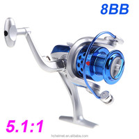 Pesca 8BB Ball Bearings ST4000 5.1:1 Seahawk Fishing Reel Left/Right Collapsible Handlle Fishing Spinning Reel Carp Fishing Reel