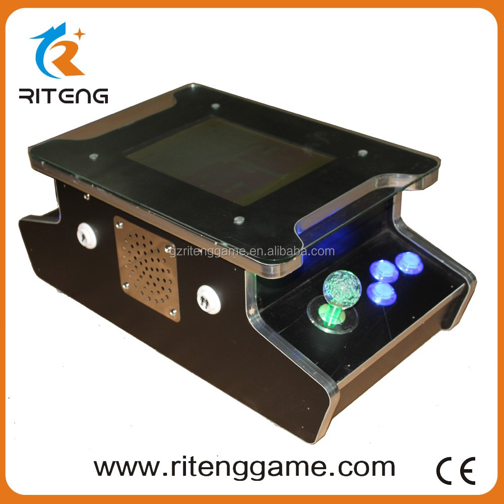 China new design popular 2 side 2 player 10.4'' the roulette bilateral cocktail arcade game machine for 60 in 1
