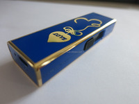 Hot sale newly design USB Blue lighter