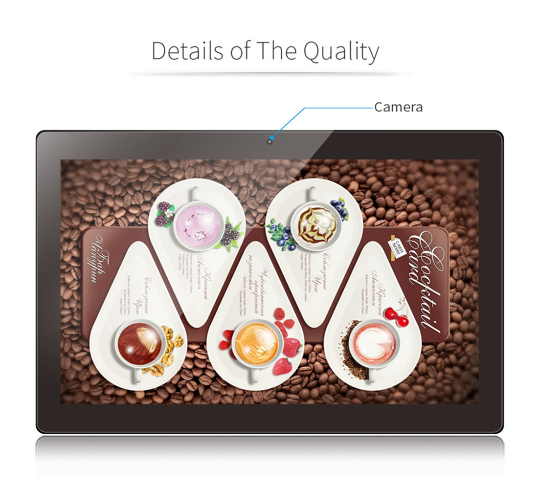 SH102WF-T Professional POE 10 inch android tablet LCD monitor all in one display