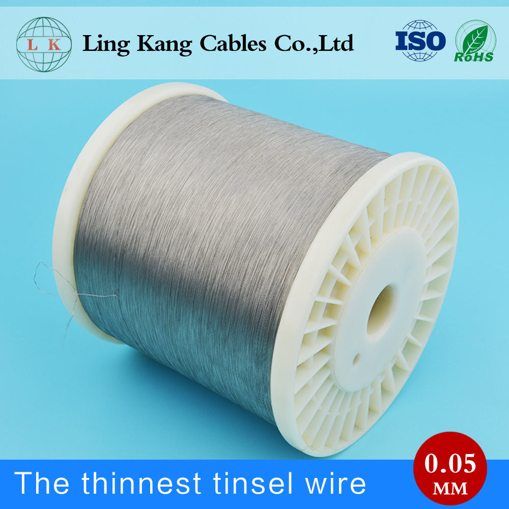 High frequency Swing 0.10mm copper tinsel wire for transformer