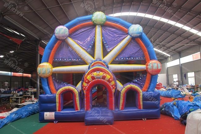 Ferris Wheel Inflatable Bounce House Combo