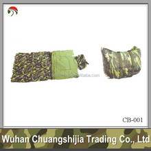 Outdoor military camo sleeping bag