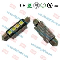 High quality c5w canbus car led SV8.5 festoon led light c3w c10w 36mm led smd 5050 with sink