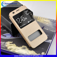 For samsung galaxy s7 case, 2016 new dual window case s7 leather case