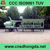 Professional Designed High Efficiency YHZM30 Mobile Concrete Batching Plant on Sale