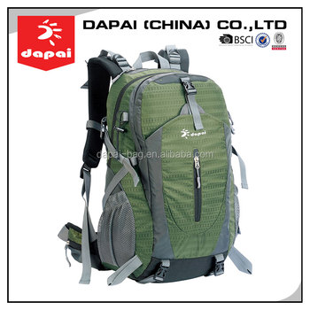Low Price Leisure Style Sport Outdoor Custom Hiking Backpack