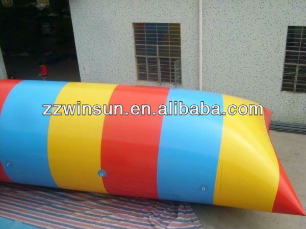 Plato Pvc inflatable water jumping balloon for extreme sports