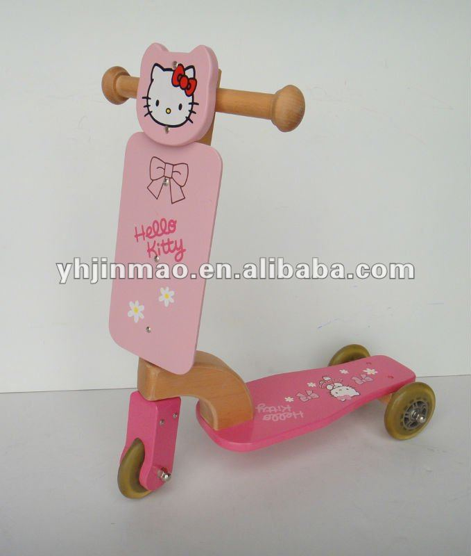 2015 newest hello kitty art scooter for kids