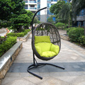 Cheap Price Wicker Outdoor Hanging Egg Chair
