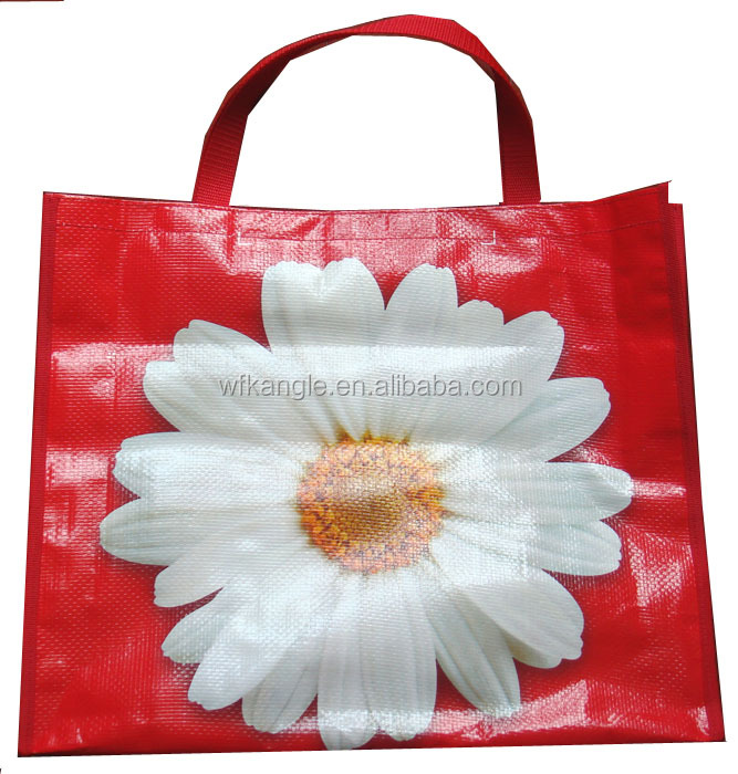 Top grade shopping PP woven tote promotion packaging