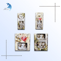 Unique design wooden wall clock wholesale