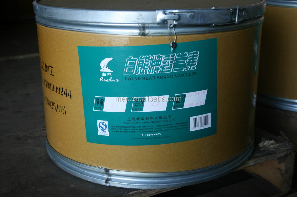 Vanillin Polar Bear Brand 20kg Package