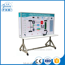 school driving training simulator for Series-parallel Hybrid Power Vehicle Energy Control Strategy laboratory equipment