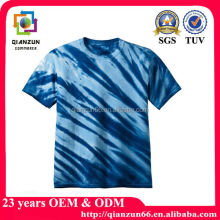 hot sale 100% cotton tie dye t-shirt