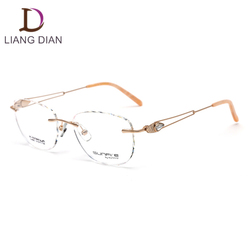 titan rimless spectacle frames no moq