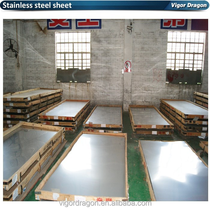 Packed withwodden box polished 410 stainless steel sheet