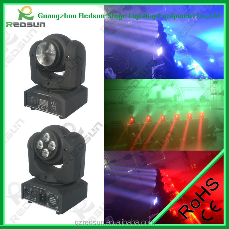 Stage Lighting Equipment DMX Controller Cabeza Movil LED Luces Disco