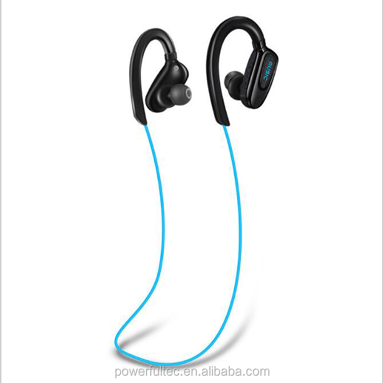 Stereo Headphones, Waterproof Headphones Gym Running Sports Wireless Earbuds Earphone