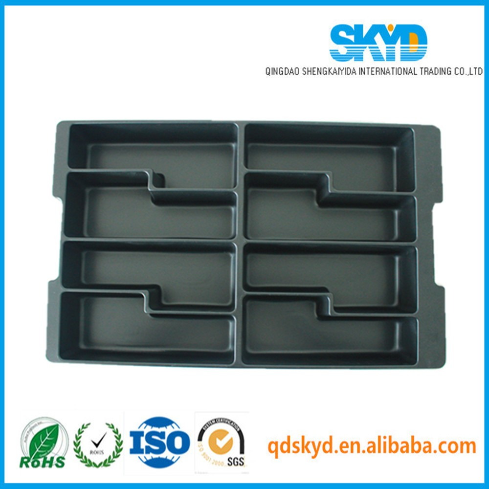 PET blister packaging large plastic tray