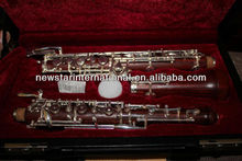 Professional silver plated keys Rosewood Oboe