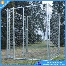 2016 hot sale large dog run chain link animal cage / portable large garden dog kennels
