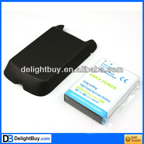 3800mAh Rechargeable Lithium-ion Battery + Back Case For Blackberry Bold 9790