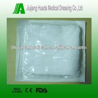 medical gauze swabs 8fold or 12fold blister packaging