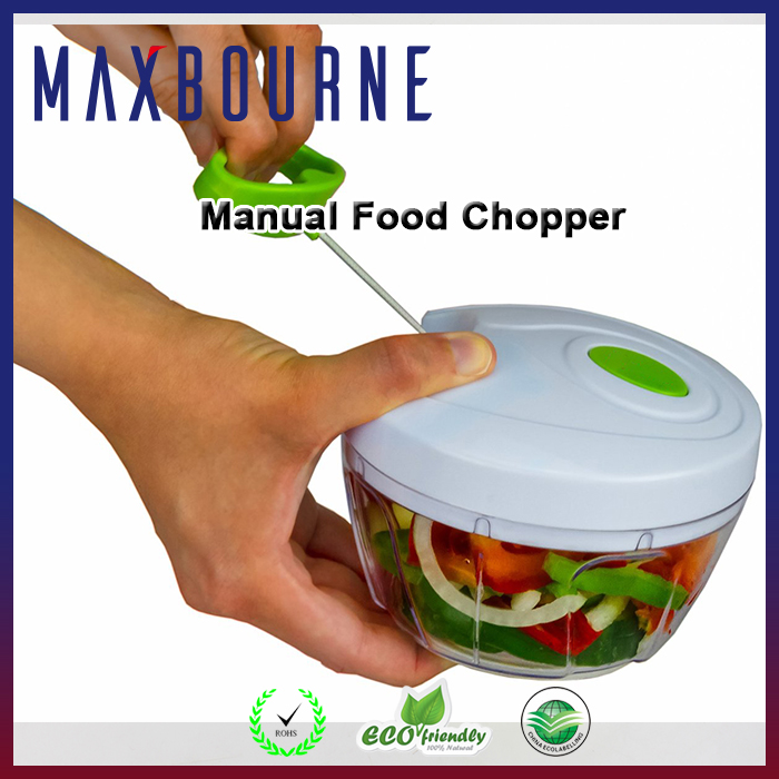 China Supplier Manual Food Chopper Compact Powerful Hand Held Vegetable Chopper