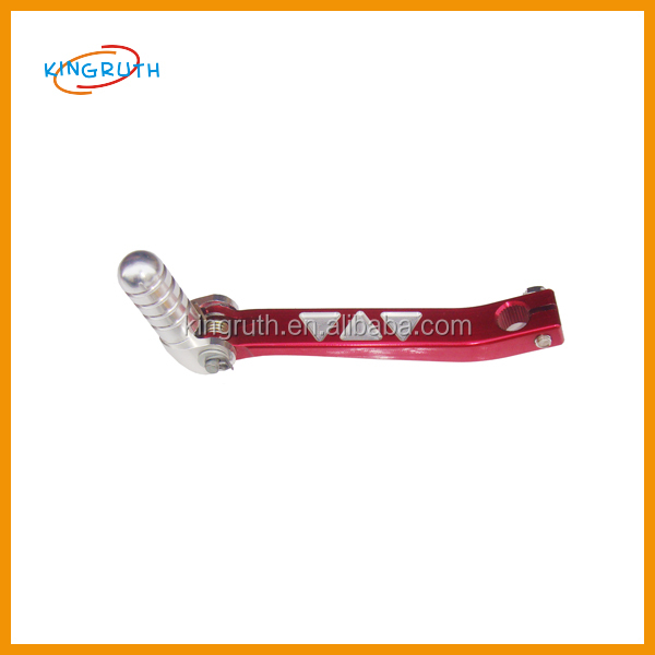 Red hight quality motorbike scooter pocket bike truck gear shift lever