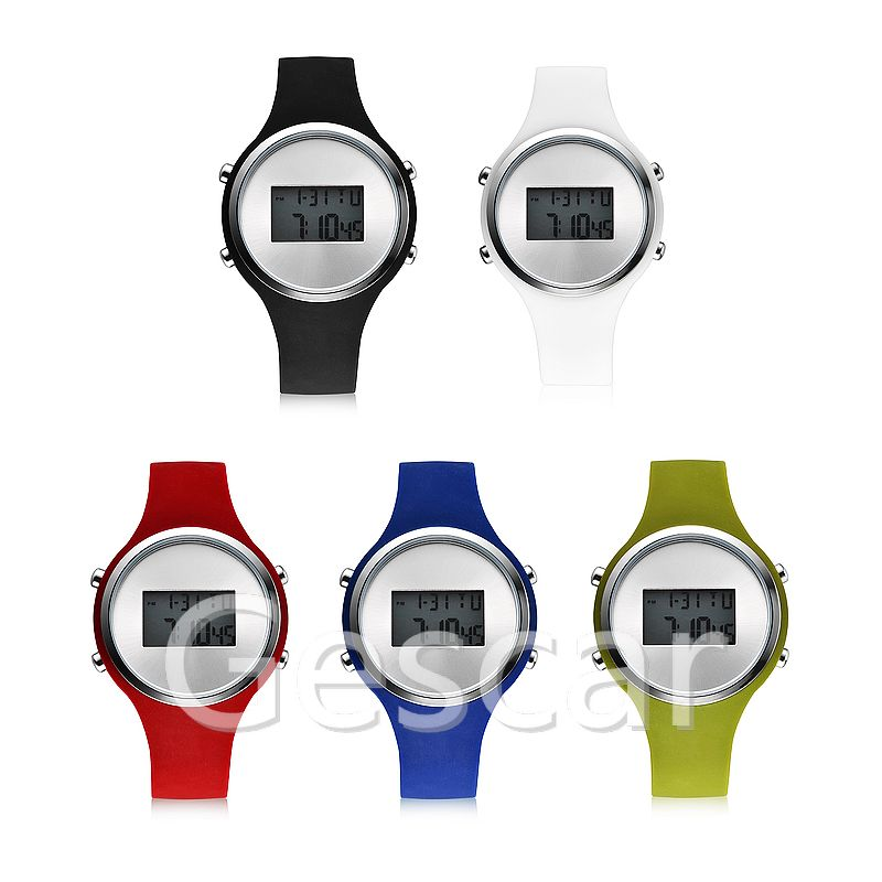 RE064 special silicone sports casual rebirth digital watch for man lady students