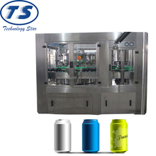 Aluminum pop top can carbonated drink filling equipment, Can Filling and Packing Line