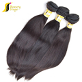 High quality unprocessed grade 6a cheap intact raw virgin peruvian silky straight hair