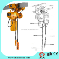 5 ton electric chain hoist overhead traveling crane