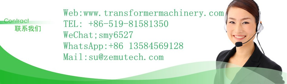 Hydraulic automatic transformer coil winding machine