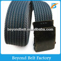 "1.5"" Men's Navy Essential Cotton Web Belt,Comfortable to Wear Shorts and Jeans"