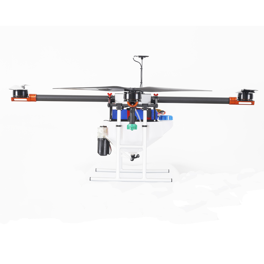 Professional 5kg foldable Agriculture UAV drone spraying pesticides, garden sprayer uav drone with GPS automatically spraying