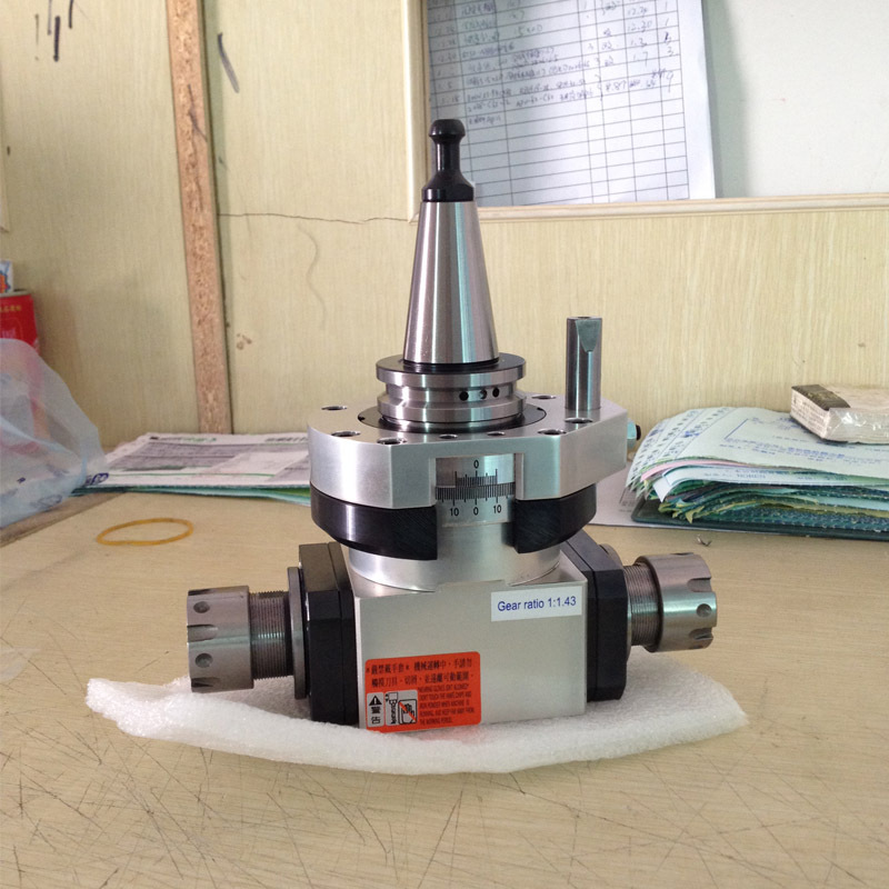 CNC tool holder double ER20 output 90-20x2 milling/drilling Angle Head for sale