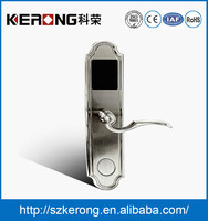 High Security Electronic Hotel Door Locks With RFID Hotel Room Card Key Lock System