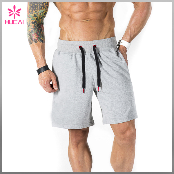Whole Polyester Fabric Gym Workout Mens Exercise Shorts