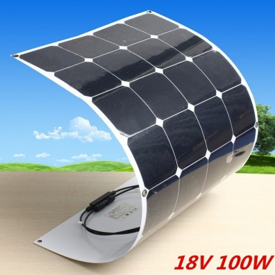 China flexible solar panel price 12v 18v 50w 100w thin film pv panel