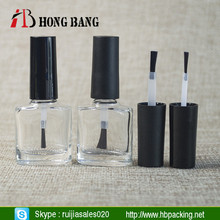 5ml 10ml 15ml square empty custom made unique gel nail polish bottles