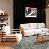 Modern Bamboo Sofa set (New design)