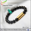 New Design Wholesale Mens Beaded Bracelet made of turquoise stone