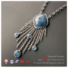 raw crystal necklace stone pretty pendant
