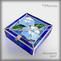 MX1600059 stained glass flower jewelry boxe