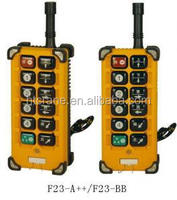 Industrial remote control for electric hoist